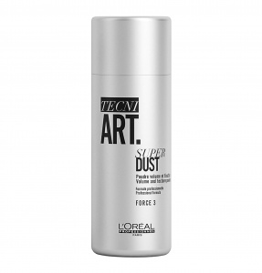 L'Oreal Professionnel Tecni.Art Super Dust Пудра для объема и фиксации (фиксация 3), 7 гр